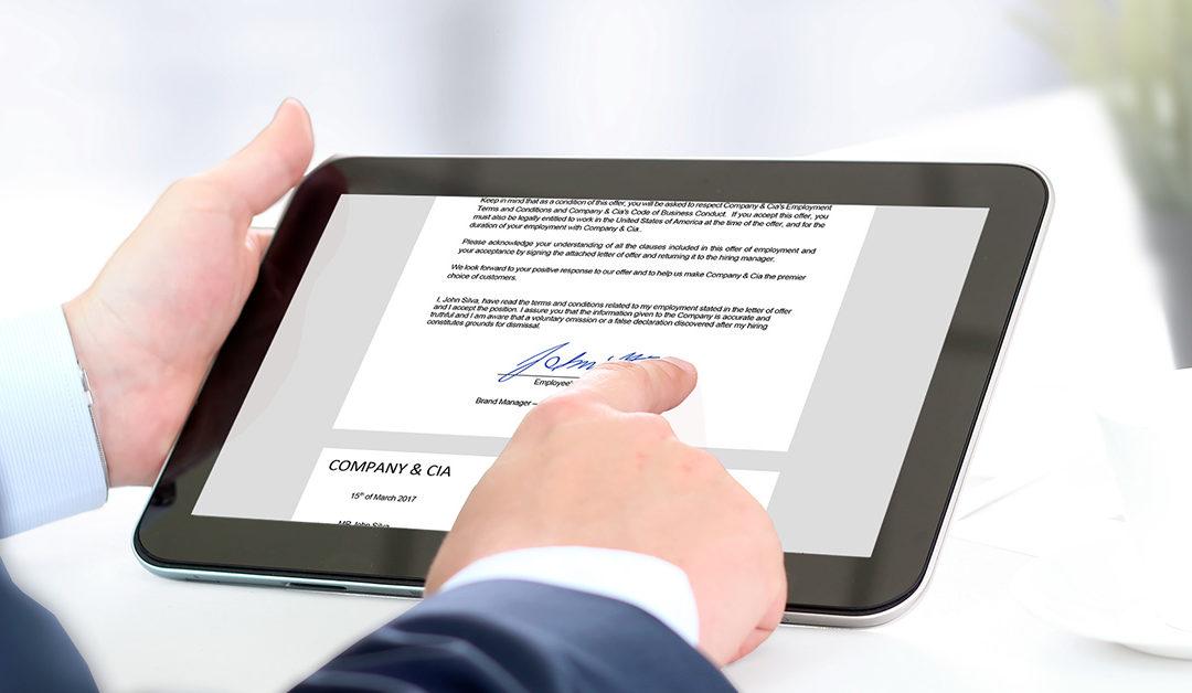 Elektronikus aláírás mindenkinek!